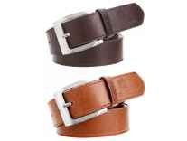 Hob London Fashion Men Belt Combo Rs.179 - Flipkart