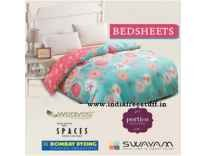 Top Brands BedSheets Minimum 50% off from Rs. 194 @ Amazon