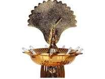 Lexton DPL-06 4-Watt Peacock Diya Lamp (Gold) RS. 168 - Amazon